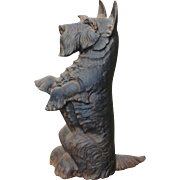 "Cast Iron ""Scotty"" Doorstop....Super Cute"