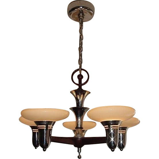 1930s Mid Century Style Lighting Fixture 4 Available Priced Each From Vintagelights Online On
