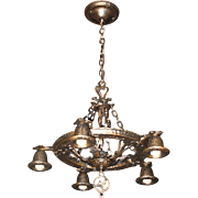Hammered Craftsman Ceiling Fixture