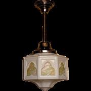 Vintage Moorish Style Cathedral Globe