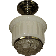 Medium Size 1920s Schoolhouse Light