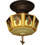 Late 20s Gill Glass Shade