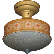 Bellova Emeralite Shade 1920s