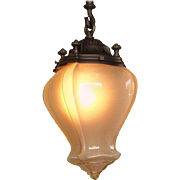 Large 1900 - 1910 Entry Fixture
