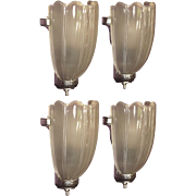 Vintage Art Deco Sconces Priced per pair