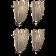 Vintage Art Deco Sconces Priced per pair