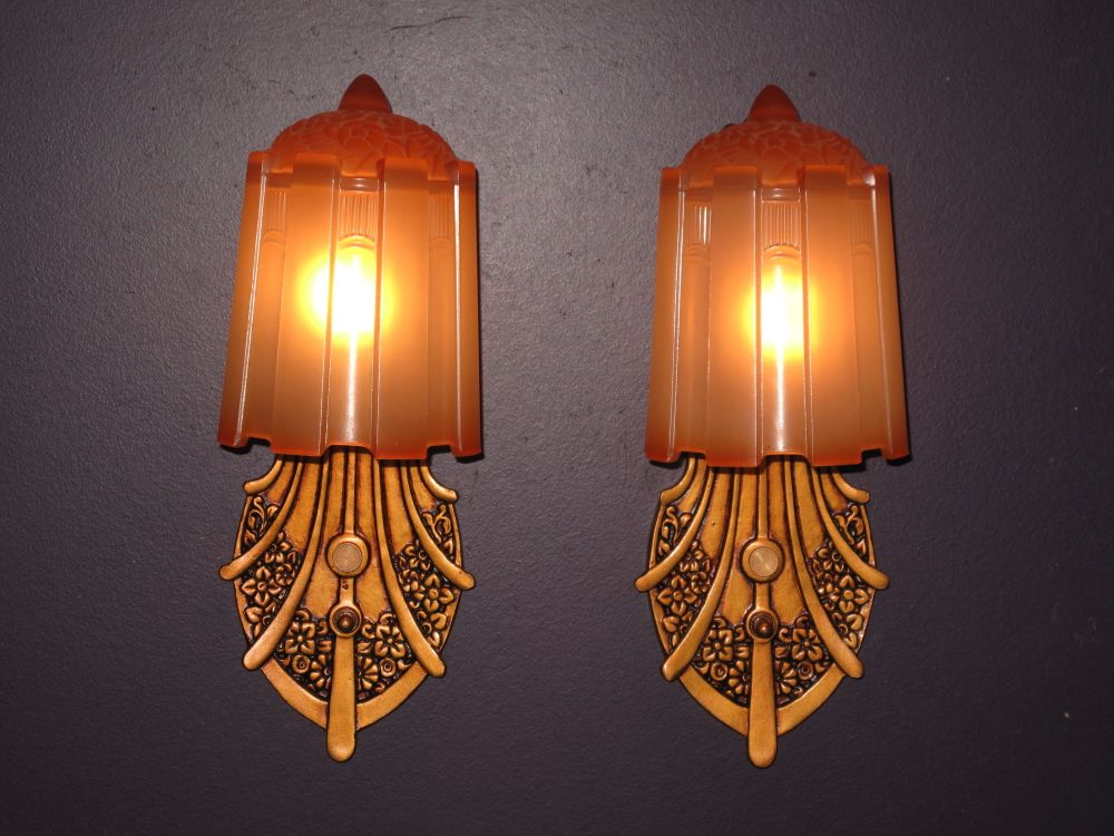 Slip Shade Sconces