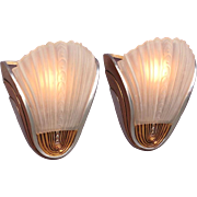 Mid Century Wall Lamps 3 available priced per pair