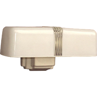 Vintage Two Bulb Porcelain Bathroom Wall Fixture with free LED bulbs