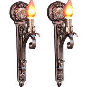 Moe Bridges Single Bulb Cast Iron Sconce 14 available priced each