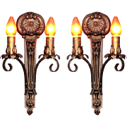 Moe Bridges 2 Bulb Cast Iron Sconce 8 available priced each