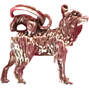 Sterling Silver Dog Charm Husky