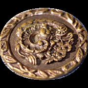 3 Set Huge Very Old Vintage Ornate Metal Buttons