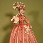 Vivian porcelain figurine by Florence Ceramics California Gone with the Wind