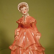 Melanie porcelain figurine by Florence Ceramics California Gone with the Wind
