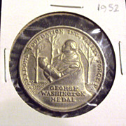 MOLD/DIE ERROR Boy Scout 1952 George Washington Medal