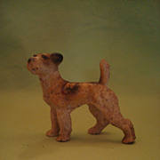 Vintage Hubley Iron Terrier West Point