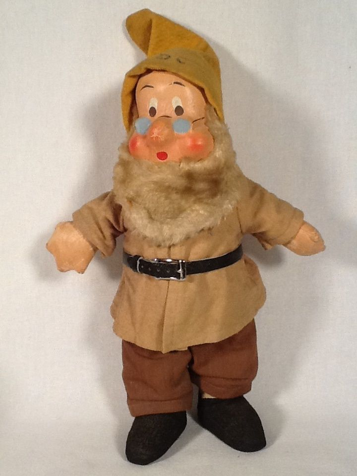 Vintage 1940's Ideal Doc from Snow White All Cloth Doll