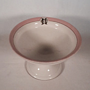 Wonderful HC Porcelain Compote Union Porcelain Works