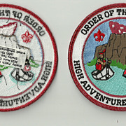 Rare Order of the Arrow High Adventure Triple Crown Patch