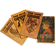 1930's Cub Scout and Boy Scout Handbooks