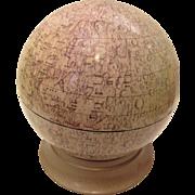 Cary's Lunar Globe Moon Vintage Circa 1969