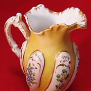 Meissen Miniature Pitcher