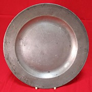 Antique English  Pewter Plate