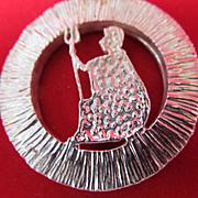 Silver Jubilee Sterling Medal Pendant Elizabeth 11