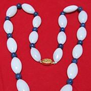 Chinese Hard Stone Necklace