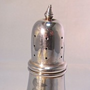 Poole Sterling Salt Shaker