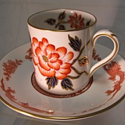 Imari style Cup and Saucer