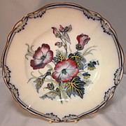 English Floral Dinner Plate