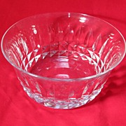 Baccarat Crystal Nut Dish