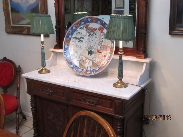 Huge Antique Imari Charger