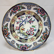 Antique English  Dinner  Plate  by  Charles Meigh