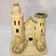 Staffordshire Slipware Pastille Castle