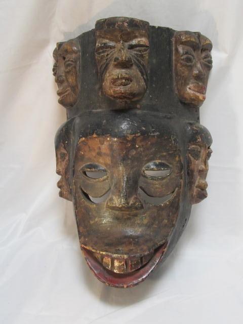 African Mask EKPO IBIBIO Nigeria