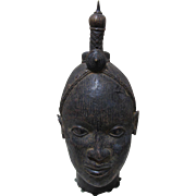 Ife Bronze Head Benin Africa