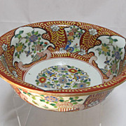 Antique Japanese Imari Porcelain Bowl
