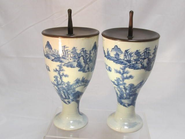 Antique Chinese  Candlesticks