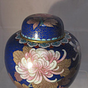 Japanese Cloisonne Covered Jar