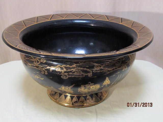 Chinese Crystal Bowl