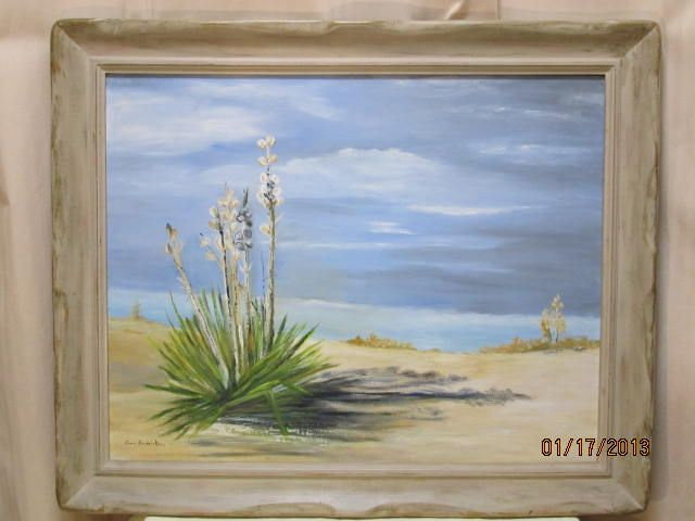 Oil Painting White Sands New Mexico