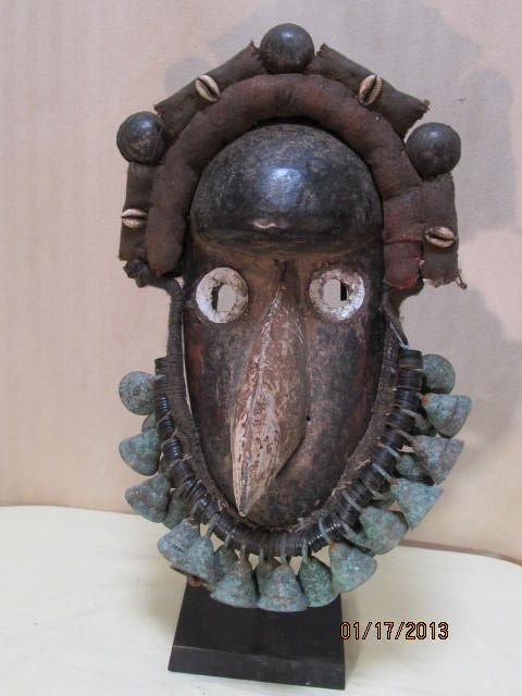 Africa Dan/Guere Carved Wood Mask