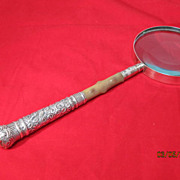 Sterling Magnifying Glass English