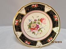 English  Porcelain  Plate