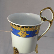 Ten Piece Continental Style Demi Tasse Set