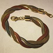 Vermeil Chain Bracelet
