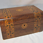 Old English Tunbridge-Ware Box